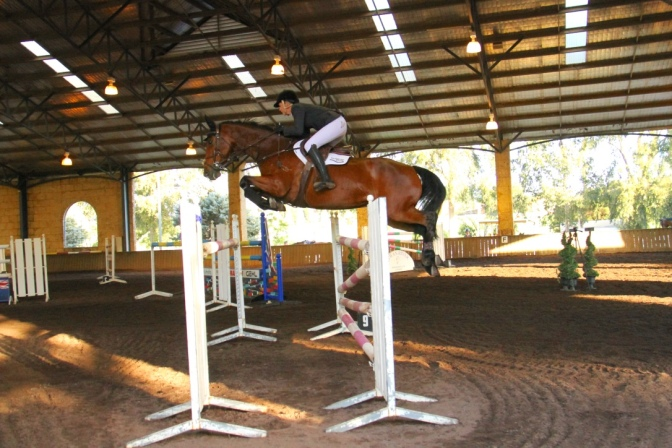 Super Success for SRSJC's inaugural 2016 Autumn Indoor Jumping Carnival
