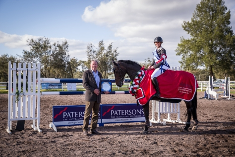 SRSJC ANNUAL CHAMPS PATERSONS PLATE - Murray McGill w Caitlin Bolger & Oaks Quickstep